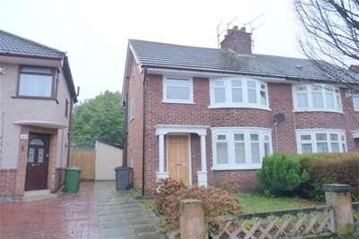 3 Bedrooms Semi Detached House for rent in Rosefield Avenue, Bebington