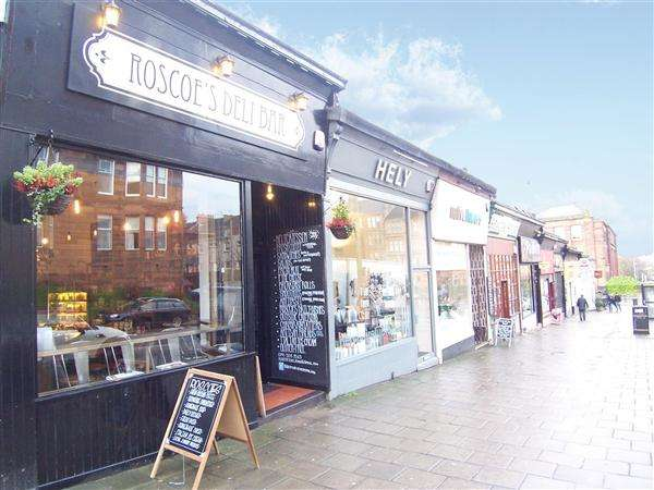 Commercial Property for sale in Roscoe's Deli Bar, 23 Clarence Drive, Hyndland, Glasgow, G12 9QN