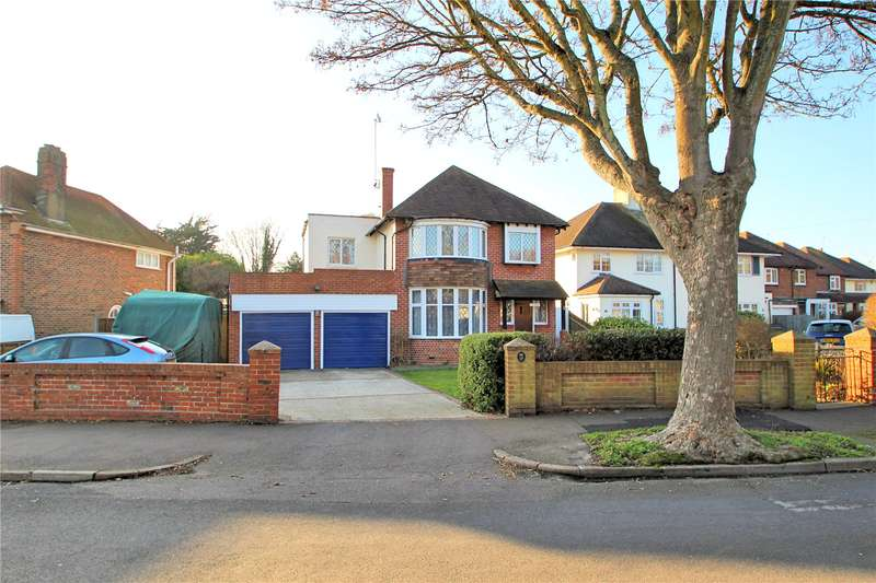 4 Bedrooms Detached House for sale in Offington Drive, Worthing, West Sussex, BN14