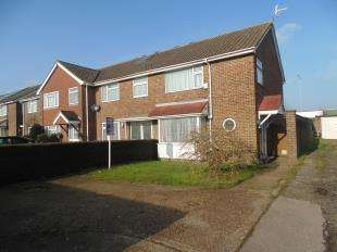 3 Bedrooms End Of Terrace House for sale in The Lawns, Sompting, Lancing, West Sussex