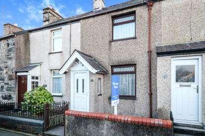 2 Bedrooms Terraced House for sale in Glan Gwna Terrace, Caeathro, Caernarfon, Gwynedd, LL55