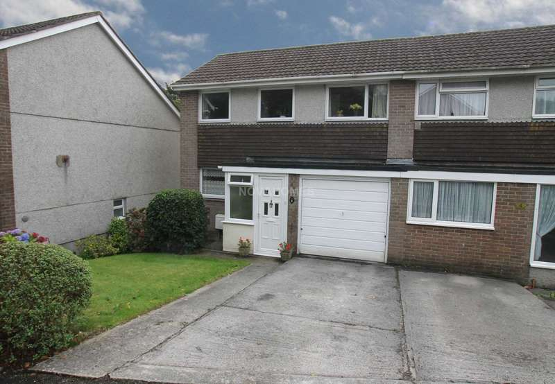 4 Bedrooms Semi Detached House for sale in Long Down Gardens, Plymouth, PL6 8SB