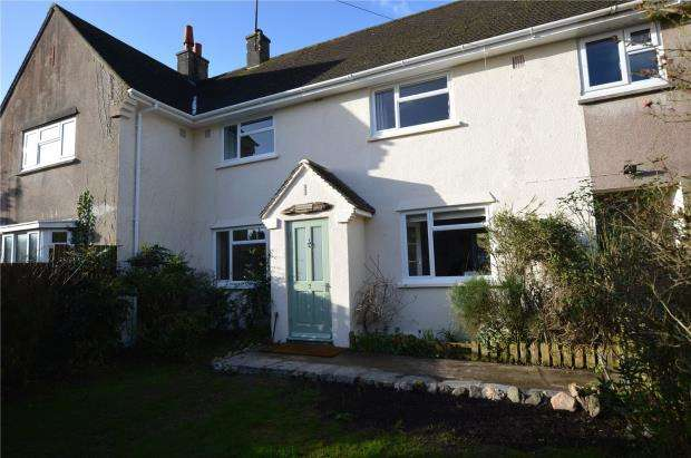 2 Bedrooms Terraced House for sale in Treliddon Lane, Downderry, Torpoint, Cornwall