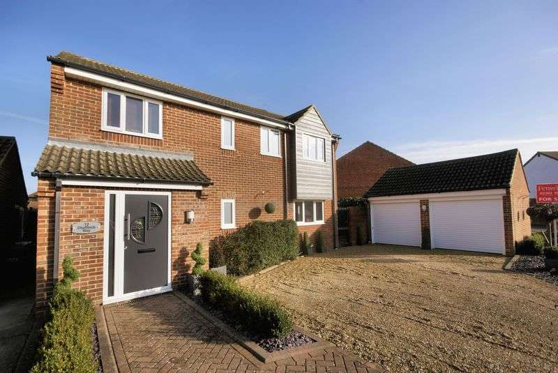 4 Bedrooms Detached House for sale in Chaffinch Way, Lee-On-The-Solent