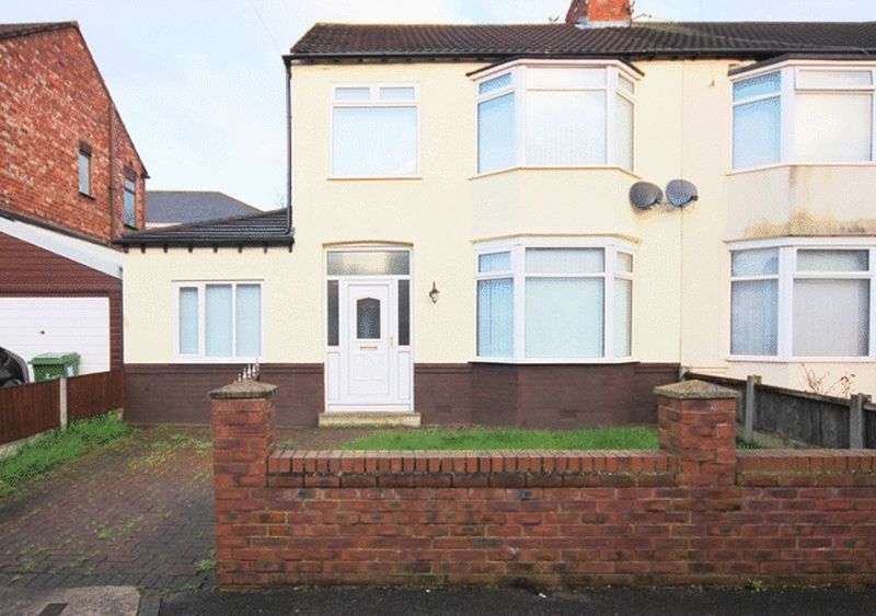 3 Bedrooms Semi Detached House for sale in Stoneycroft Crescent, Old Swan, Liverpool, L13