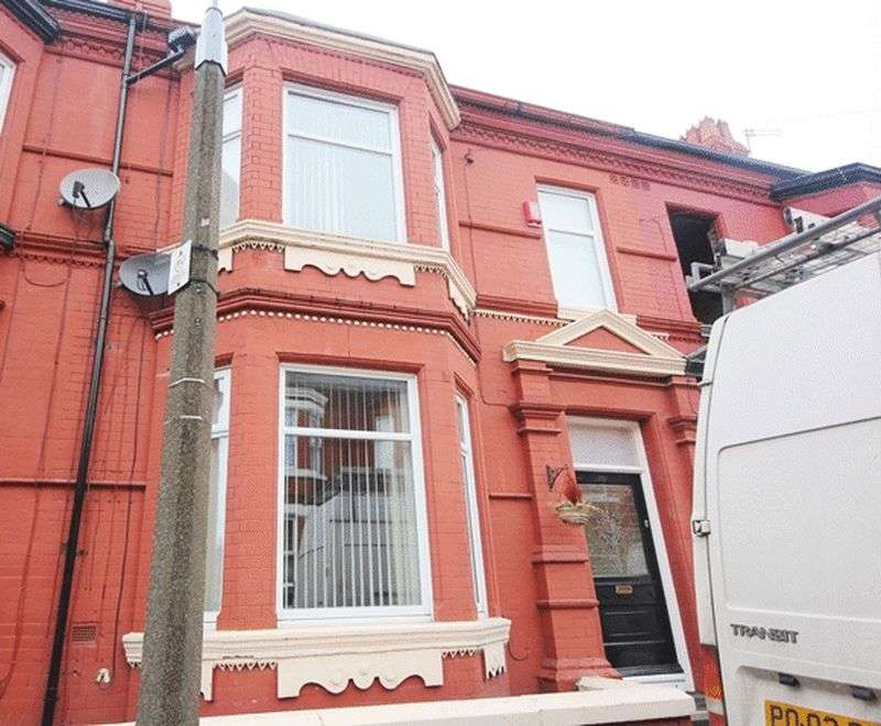 6 Bedrooms Terraced House for sale in Ampthill Road, Aigburth, Liverpool, L17.