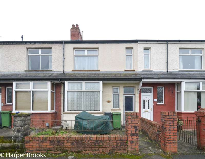 3 Bedrooms Terraced House for sale in Riverside Terrace, Cardiff, Caerdydd, CF5