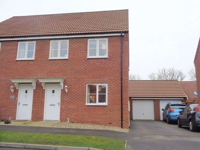 3 Bedrooms Semi Detached House for sale in Bluebell Walk, Lincoln