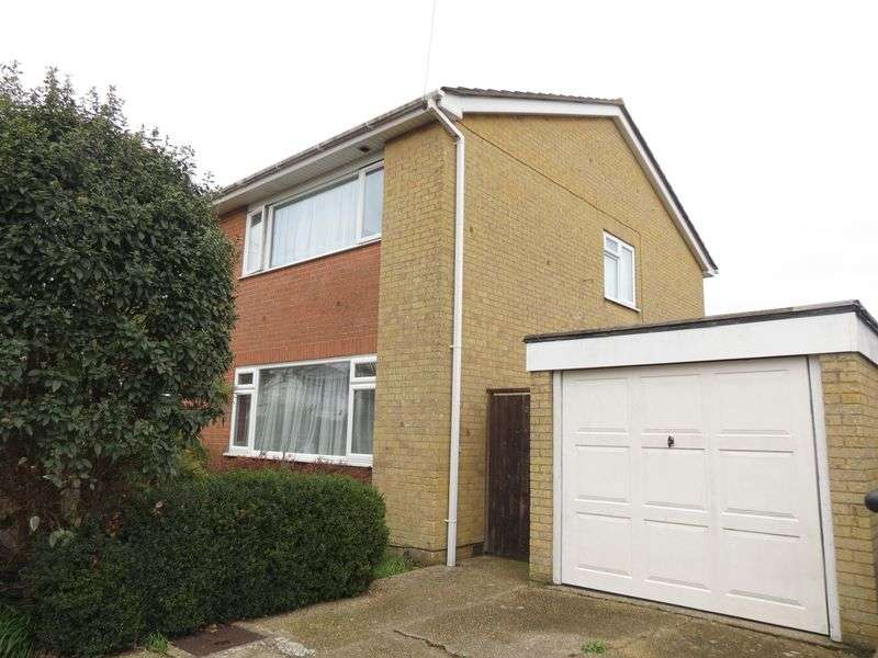 3 Bedrooms Semi Detached House for sale in Derwent Close, Bournemouth