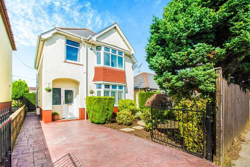 3 Bedrooms Detached House for sale in Newport Road, New Inn, Pontypool
