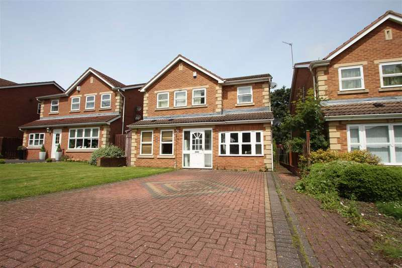 5 Bedrooms Detached House for sale in Princes Meadow, Newcastle Upon Tyne, Gosforth