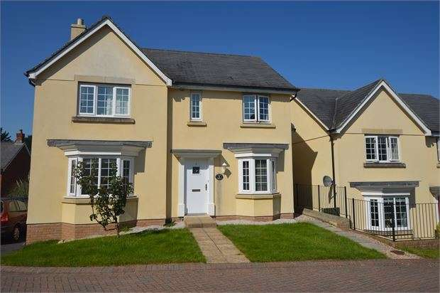 4 Bedrooms Detached House for sale in Westwood Cleave, East Ogwell, Newton Abbot, Devon. TQ12 6YE