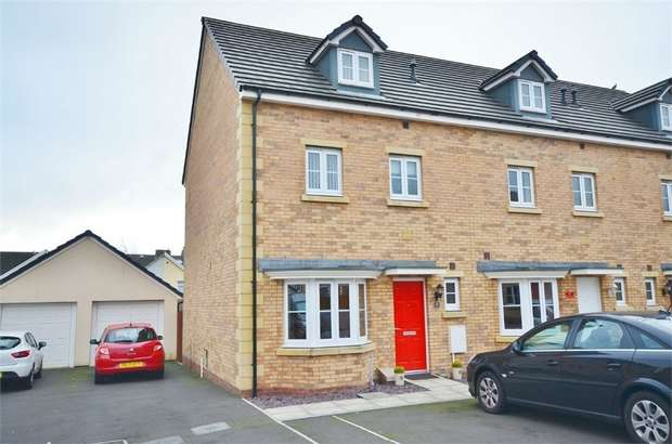 4 Bedrooms End Of Terrace House for sale in Meadowland Close, CAERPHILLY