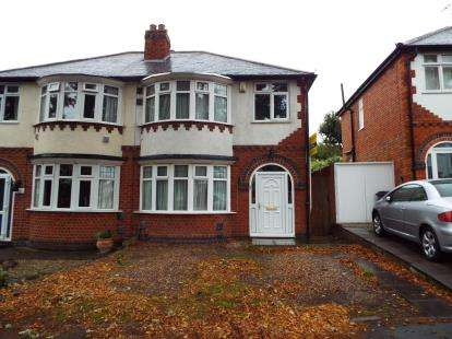 3 Bedrooms Semi Detached House for sale in Welford Road, Leicester, Leicestershire