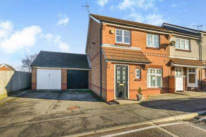 3 Bedrooms End Of Terrace House for sale in Fisher Close, Sutton-In-Ashfield, Nottinghamshire, Notts