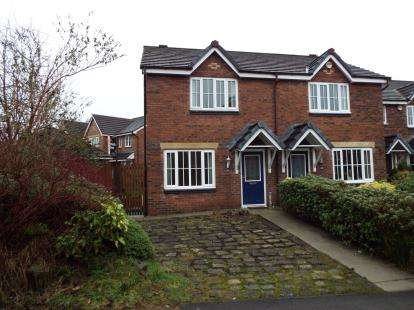 2 Bedrooms Semi Detached House for sale in Corner Brook, Lostock, Bolton, Greater Manchester, BL6