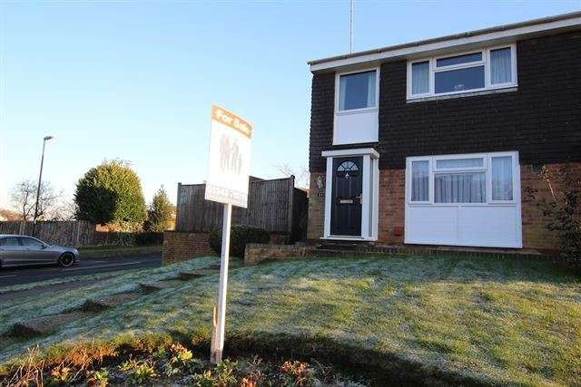3 Bedrooms Semi Detached House for sale in Burleigh Way, Crawley Down, West Sussex, RH10 4LX