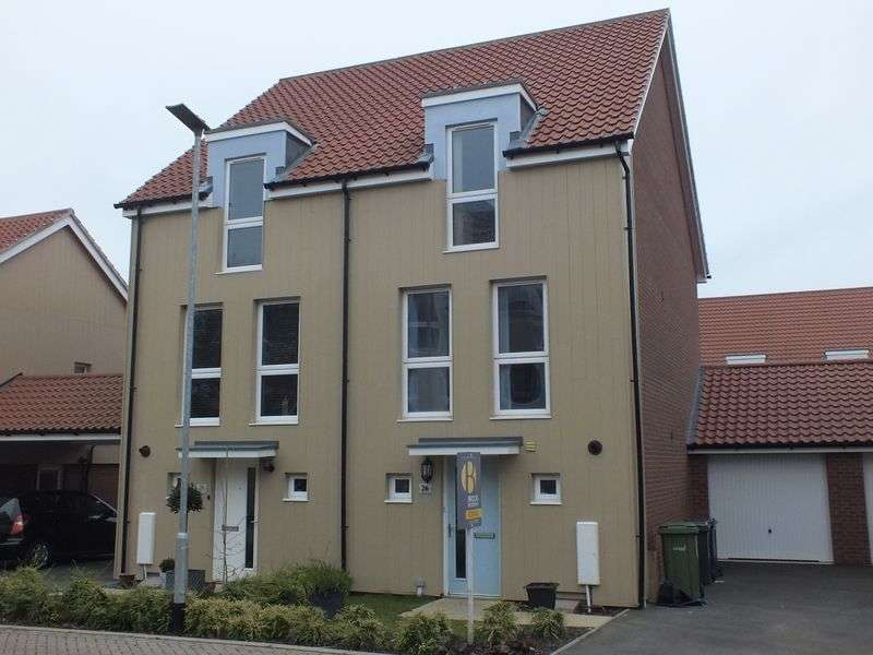 3 Bedrooms Semi Detached House for sale in Peacock Grove, Norwich