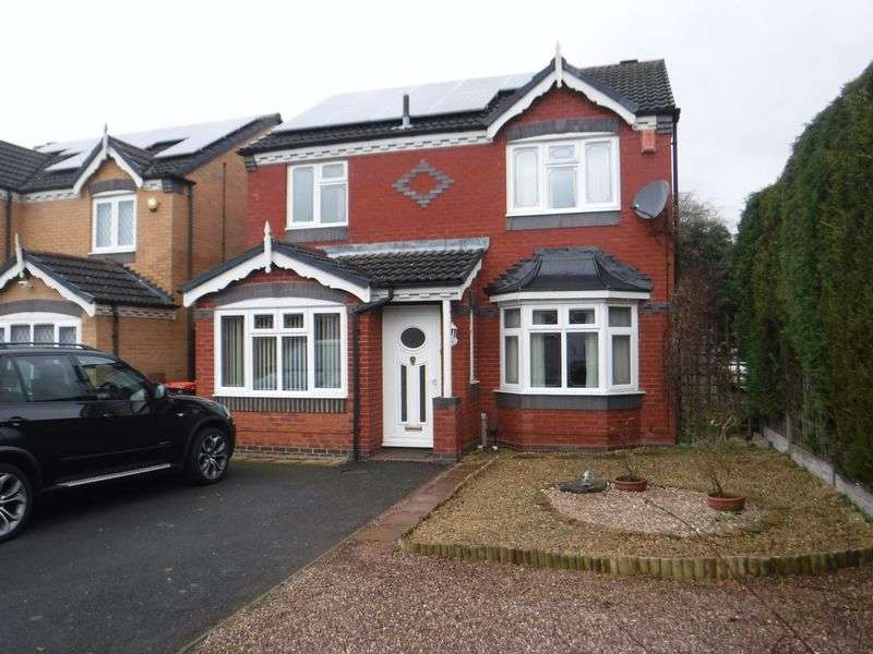 3 Bedrooms Detached House for sale in Ormsdale Close, Muxton Telford