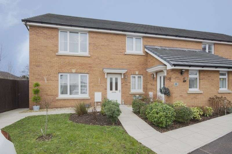 2 Bedrooms Flat for sale in Rhymney Way, Newport