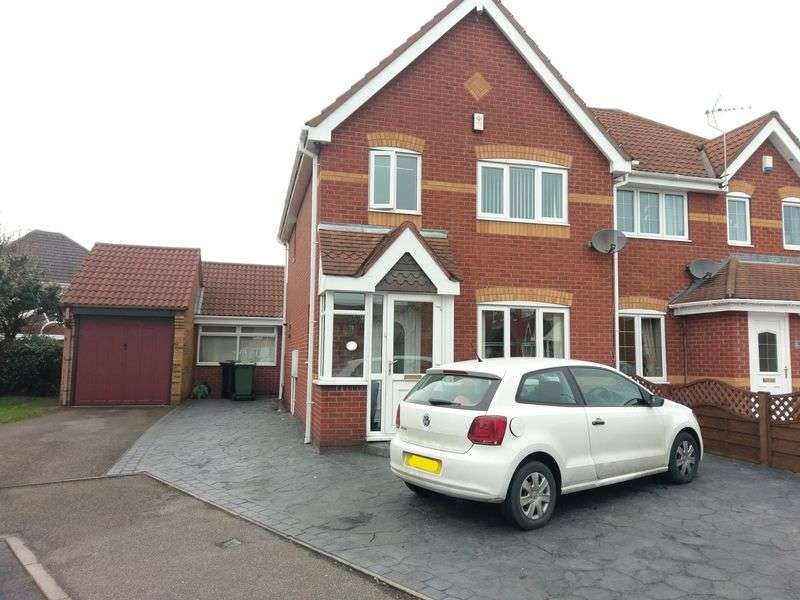 3 Bedrooms Semi Detached House for sale in Yare Grove, Wolverhampton