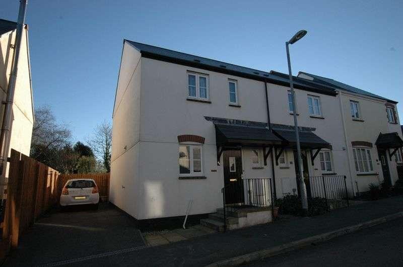 3 Bedrooms Terraced House for sale in Goonbarrow Meadow, Bugle