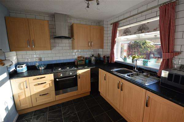 3 Bedrooms Terraced House for sale in NORTH CAPE WALK, CORBY