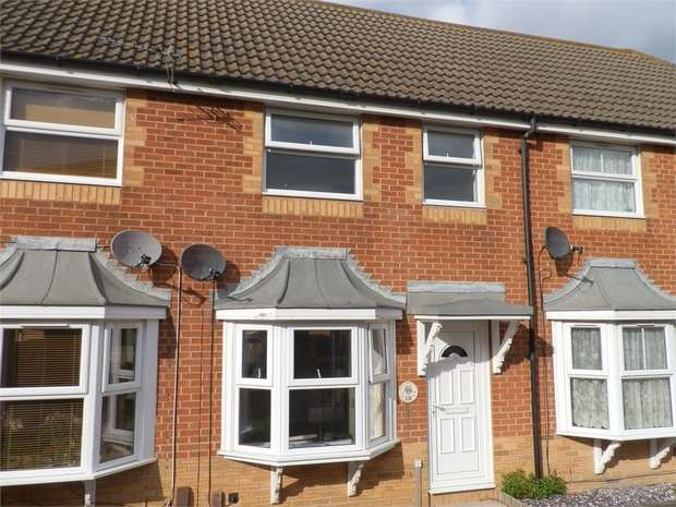 2 Bedrooms Terraced House for sale in Walsby Drive, Kemsley, SITTINGBOURNE, Kent
