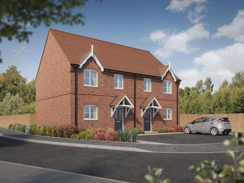 3 Bedrooms Semi Detached House for sale in The Broomfield, Devereux Grange, Great Haywood