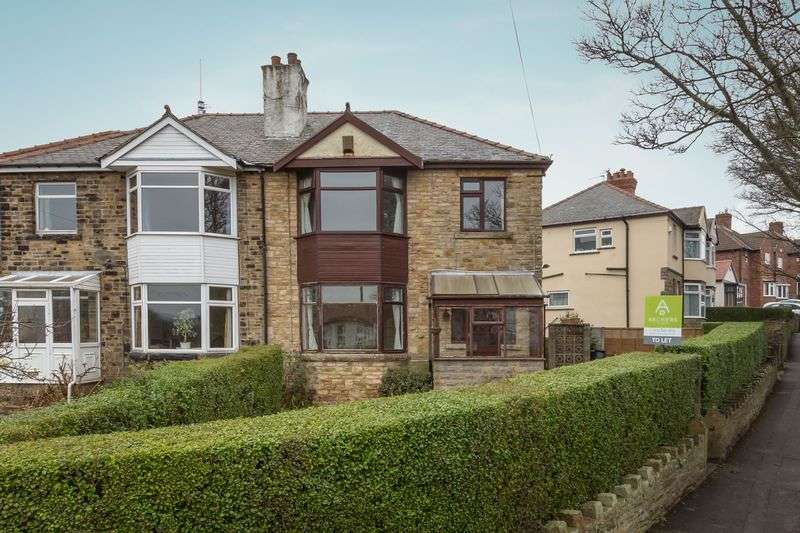 3 Bedrooms Semi Detached House for rent in Ryegate Road, Crosspool, Sheffield, S10 5FA