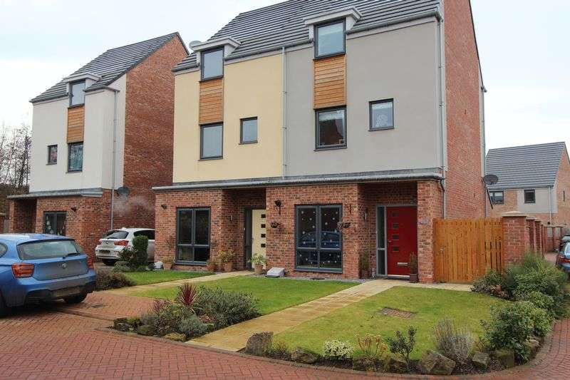 4 Bedrooms Semi Detached House for sale in Twizell Burn, Houghton Le Spring