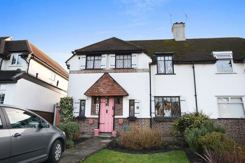 3 Bedrooms Semi Detached House for sale in Warren Road, Banstead