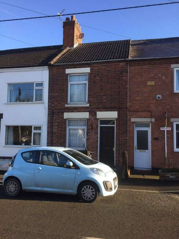 2 Bedrooms Terraced House for sale in Thornborough Road, Coalville
