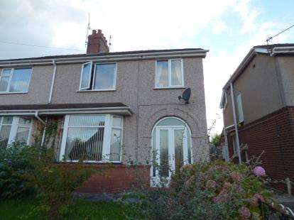 3 Bedrooms Semi Detached House for sale in First Avenue, Flint, Flintshire, CH6