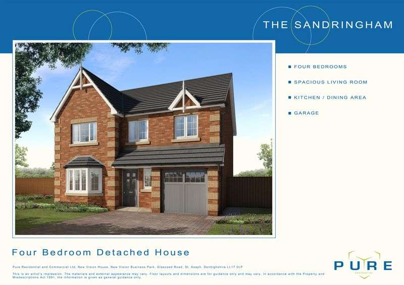4 Bedrooms Detached House for sale in Plot 7, Dol Hyfryd, Ruthin Road, Denbigh