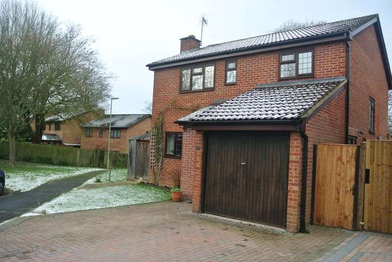 4 Bedrooms Detached House for sale in Minden Close, Chineham