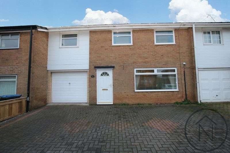 3 Bedrooms Terraced House for sale in Defoe Crescent, Newton Aycliffe