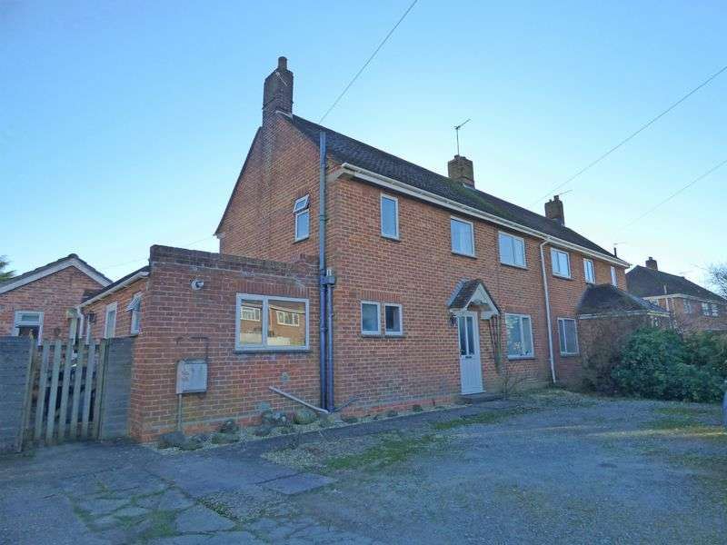 3 Bedrooms Semi Detached House for sale in Crookhays, Shaftesbury