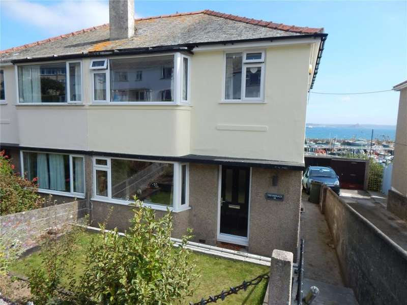 3 Bedrooms Semi Detached House for sale in Kenstella Road, Newlyn, Penzance