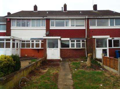 3 Bedrooms Terraced House for sale in Ramillies Crescent, Walsall, West Midlands