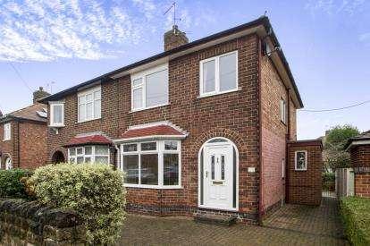 3 Bedrooms Semi Detached House for sale in Beech Avenue, Beeston, Nottingham