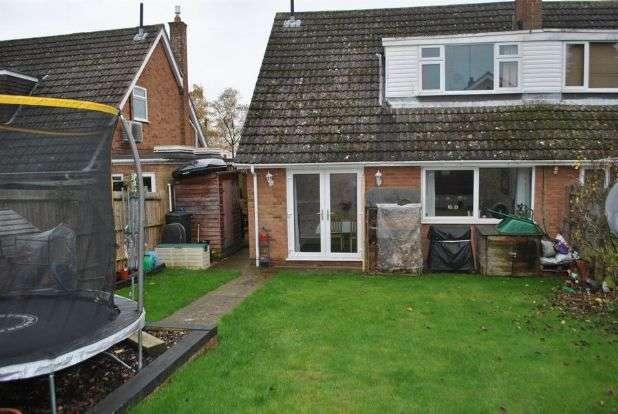 4 Bedrooms Semi Detached House for sale in Leyland Drive, Kingsthorpe, Northampton NN2 8QA
