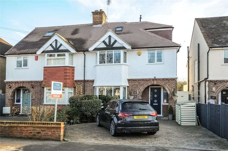 4 Bedrooms Semi Detached House for sale in West Way, Rickmansworth, Hertfordshire, WD3