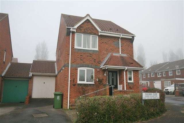 3 Bedrooms Link Detached House for sale in Sullivan Close, Cosham, Portsmouth, Hampshire, PO6 4SN