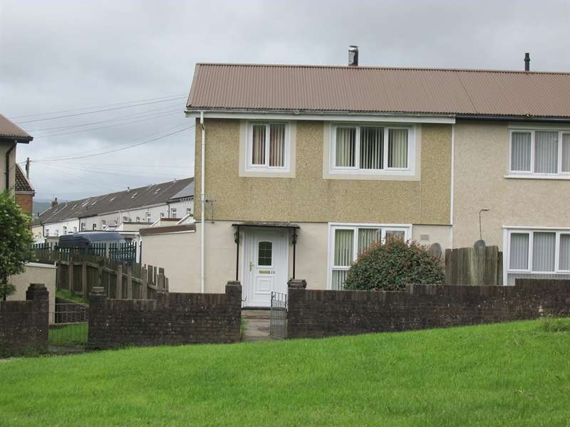 3 Bedrooms Semi Detached House for sale in Tai'r Twynau, Pant, Merthyr Tydfil
