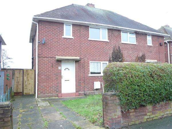 2 Bedrooms Semi Detached House for sale in Colman Avenue, Wednesfield, Wednesfield