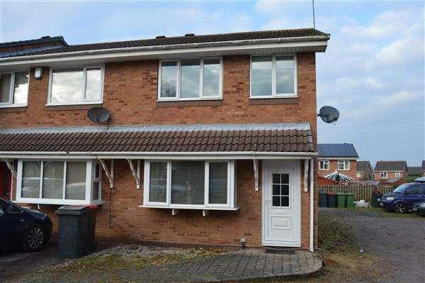 3 Bedrooms End Of Terrace House for sale in Aldersgate, Kingsbury, Tamworth