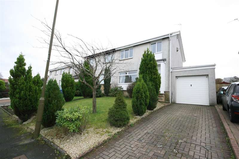 3 Bedrooms Semi Detached House for sale in Hamilton Crescent, Maddiston, Falkirk