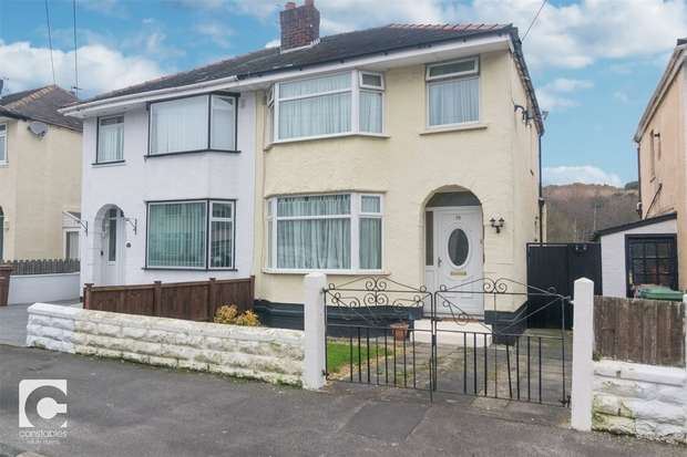 3 Bedrooms Semi Detached House for sale in Eccleshall Road, Bebington, Wirral, Merseyside