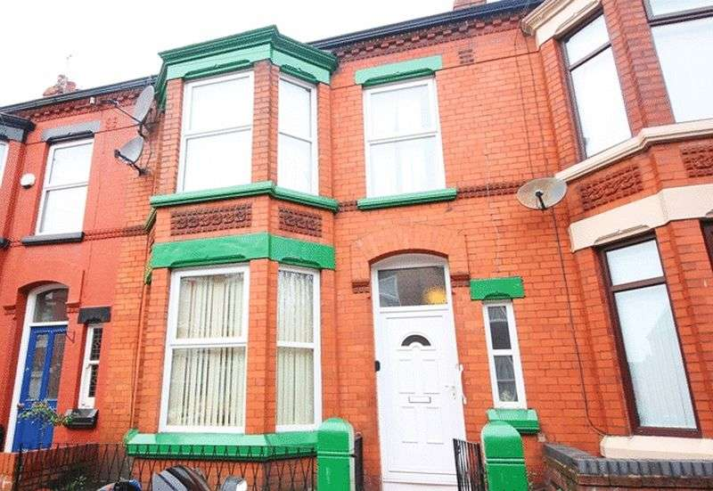 3 Bedrooms Terraced House for sale in Foxdale Road, Wavertree, Liverpool, L15